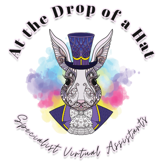 at the drop of a hat specialist virtual assistants logo